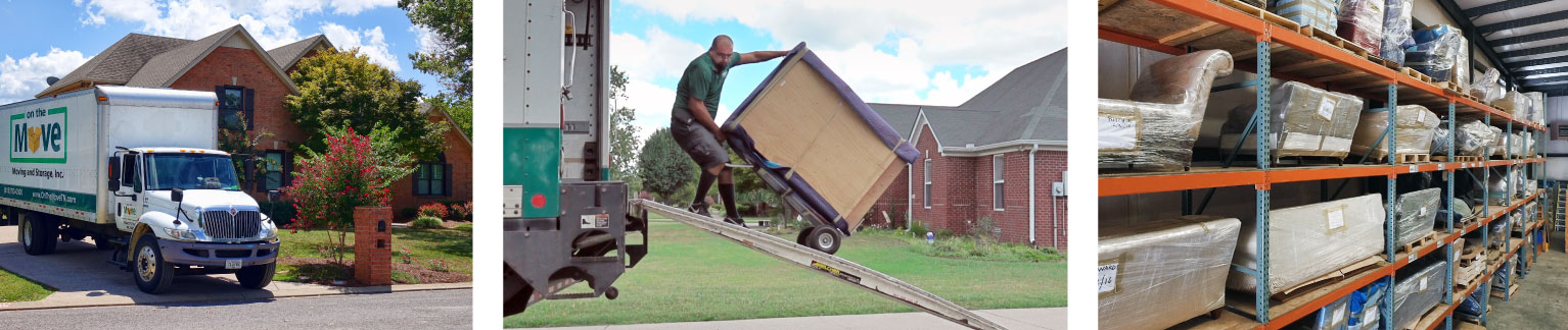 Prevent Damage While Moving. On The Move - Professional Moving Services