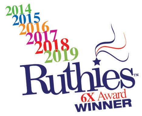 on the move ruthies winner logo, a local murfreesboro business award